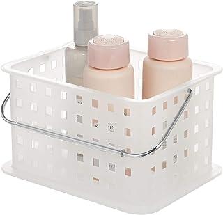 InterDesign Basic corbeille rangement, petite boite de rangement DVD en plastique, transparent