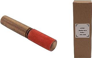Leather-Wrapped for Singing Bowl Striker,Singing Bowl Mallet, Gong Mallet for meditation Puja