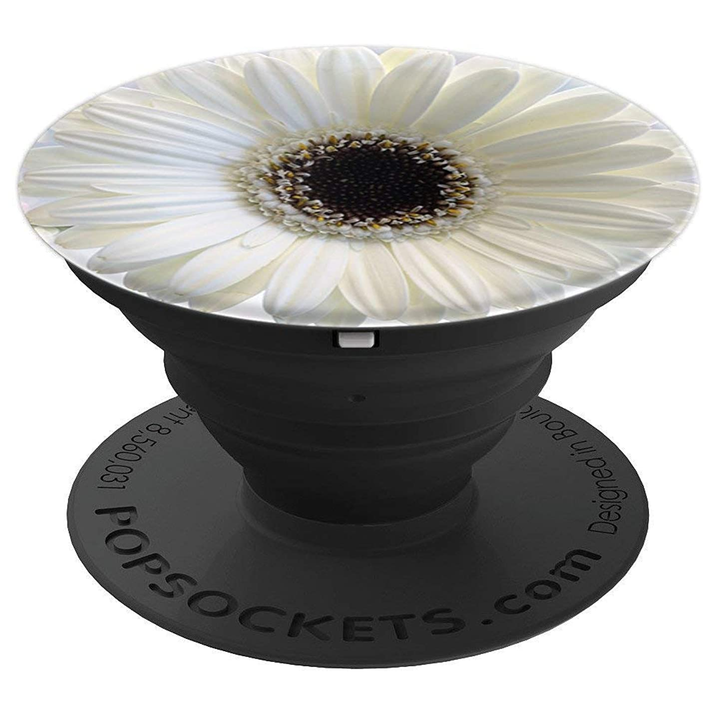 Flower Pattern - PopSockets Grip and Stand for Phones and Tablets hgfvffdbp