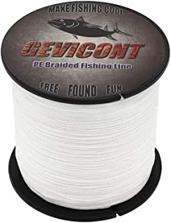 GEVICONT PE Braided Fishing Line for Outdoor Activities 4-Strands 100M/109Yards 300M/328Yards 500M/547Yards 1000M/1094Yard...