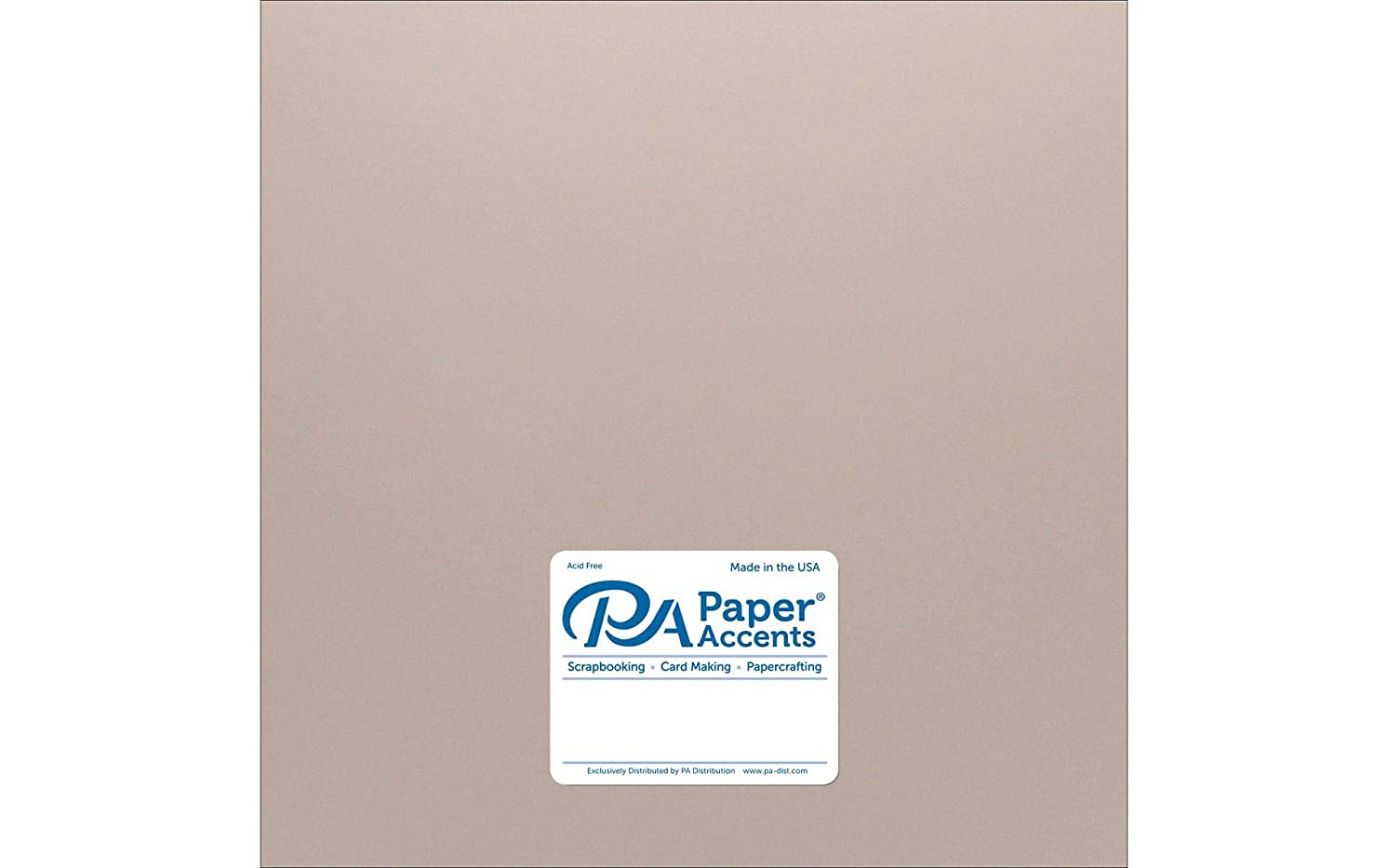 PA Paper Accents ADP1212-25.8866C PearlizedCdstk1212Rose Gold