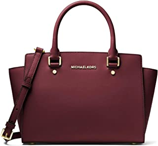 MICHAEL Michael Kors Women's Selma Medium TZ Satchel
