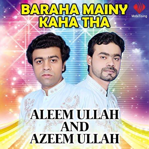 Aleem Ullah & Azeem Ullah