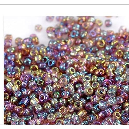 2mm 1500pcs Silver Lined Crystal Seed Glass Spacer Beads For Jewelry Handmade Diy Free Shipping Beads & Jewelry Making