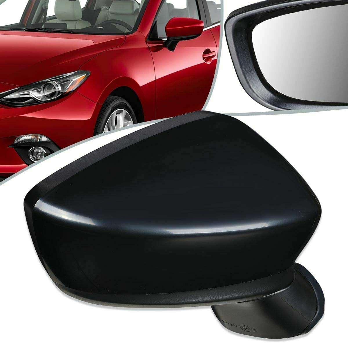 Niviora Compatible with 14-15 Mazda 3 Rear Indefinitely Powered Style Side OE Indianapolis Mall