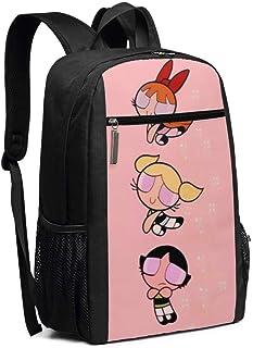 BUGKHD Mochila de viaje para portátil Shy Powerpuff para niñas, colegio, bolsa de ordenador, mochila informal para mujeres...