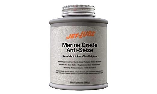 Jet-Lube Marine Grade Anti-Seize - Non-Metallic Paste | Military Grade | Water Resistant | Enviromentally Safe | 1/2 Lb.: image