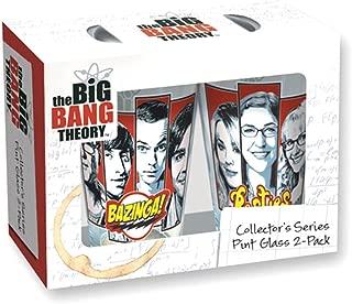 big bang theory pint glasses