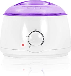 Salon Sundry Portable Electric Hot Wax Warmer Machine for Hair Removal – Purple Lid