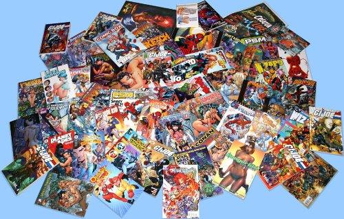 Comic Book Grab Bag- 100 Comics- Mostly 1990s Era- Character Requests Accepted