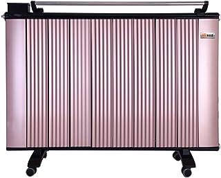 Radiador eléctrico MAHZONG Calentador eléctrico portátil - Termostato Inteligente, Corte térmico de Seguridad y operación silenciosa - 2000W