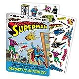 The Unemployed Philosophers Guild DC Comics Superman Magnetic Comic Book Action Play Set