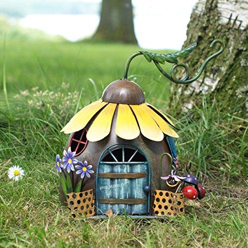 ProdBuy Limited Sonnenblumen-Haus aus Metall