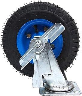 LYQQQQ 1 stks Heavy Rubber Opblaasbaar Universeel Wiel, Trolley Flatbed Truck Industry Castor Wielen, Vervang Accessoires ...