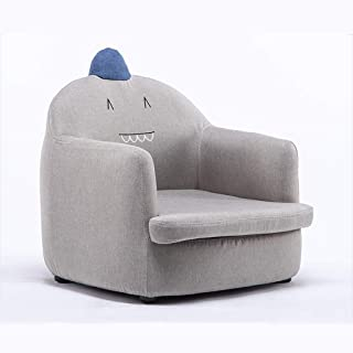 Toddler Armchair Sofa Cartoon Animal Sweet Comfy Baby's Upholstered Sofa Removable and Washable Foam Sofa Adorable Toddler...