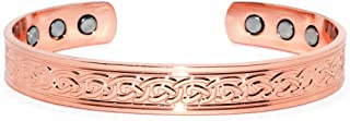 Healing Copper Magnetic BIO Therapy Bangle Bracelet Celtic Design Arthritis Pain Relief