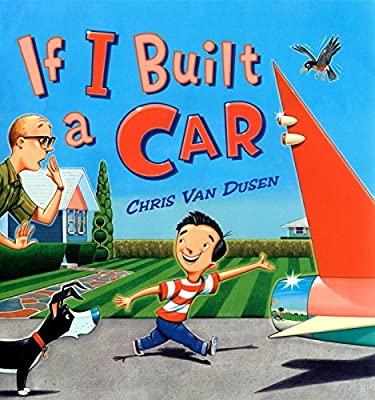 A wonderful imaginative car and a wild ride are what you are up for in If I Built a Car.