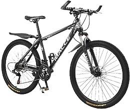 Road Bikes Mountain Bike Bike Aluminum Full Suspension Dual Disc Brake, 24 Speed Bicycle-LKLK