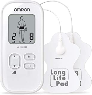 Omron E3 Tens Nerve Stimulator Pain Reliever with Massage - Pack of 1