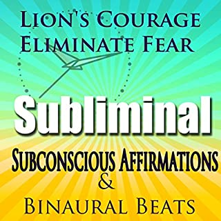 Lion's Courage Subliminal Hypnosis audiobook cover art