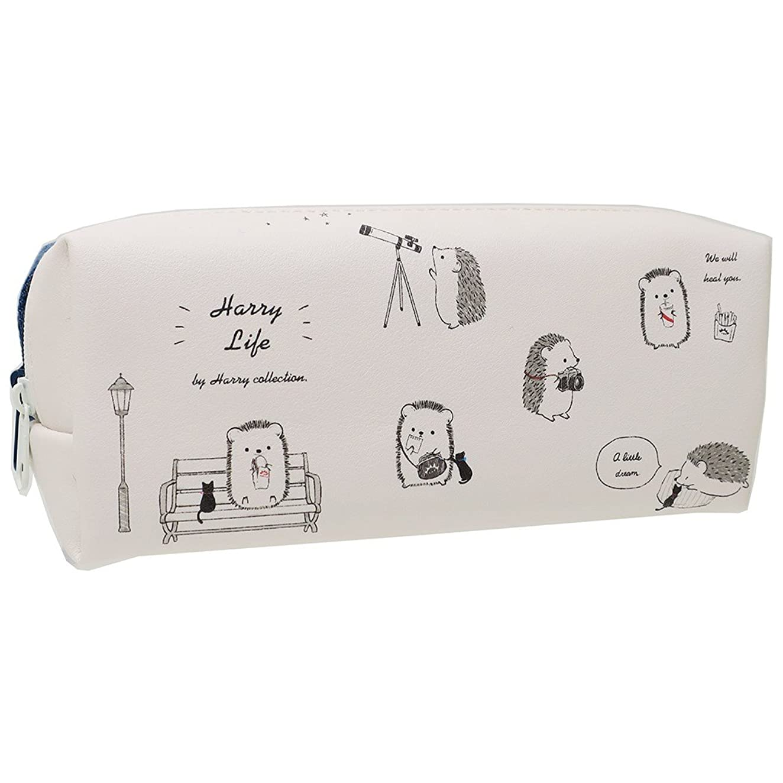 未来思慮深い舞い上がるアニマルライフ[ペンポーチ]BOXペンケース/HARRY LIFE カミオジャパン 筆箱 かわいい グッズ 通販