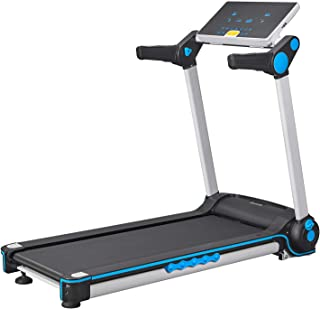 FISUP Foldable Treadmill 2.5 HP Electric Running Jogging Machine with Manual Incline and LCD Display for Home Use No Installation Required