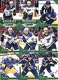 2017-18 Upper Deck Parkhurst St. Louis Blues Team Set of 10 Cards: Colton Parayko(#196), Jake Allen(#197), Alexander Steen(#198), Jaden Schwartz(#199), Paul Stastny(#201), Vladimir Tarasenko(#202), Alex Pietrangelo(#203), Robby Fabbri(#204), Ivan Barbashev(#256), Jordan Schmaltz(#266)