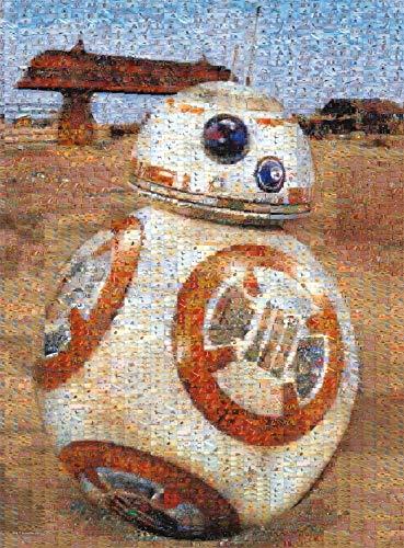 Star Wars - Photomosiac - BB-8 - 1000 Piece Jigsaw Puzzle