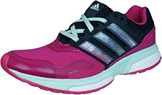 adidas Response Boost 2 Techfit Womens Running Trainers/Shoes - Dark Pink