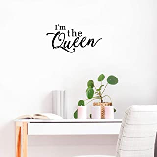 Vinyl Wall Art Decal - I'm The Queen - 11