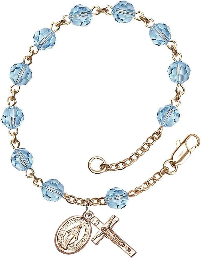 Bonyak Jewelry 14 Karat Yellow San Diego Mall Gold 6mm Bracelet Dallas Mall June Swa Rosary