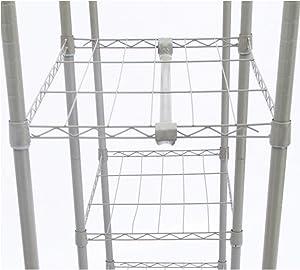 Wardrobe LI Jing Shop - Armario de Tela Tire de la Estructura de la Cortina Marco de Metal Asamblea Pole Almacenamiento de Alta Capacidad W110 × D45 × H166cm (Color : Geometric Pattern -2)
