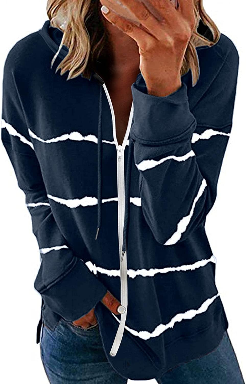 Long Sleeve Shirts for Women Cotton,Kirbyates Womens Los Angeles California 1992 Oversized Sweatshirt Long Sleeve Drop Shoulder Colorblock Sweatshirt Hoodies Navy