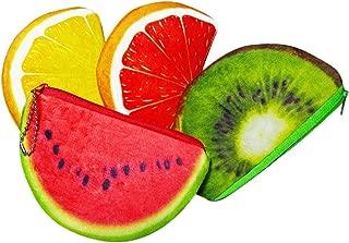 Lovely Fruit Purse Coin Bag Wallet (4pcs/pack)