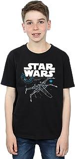 Star Wars niños The Last Jedi X-Wing Camiseta