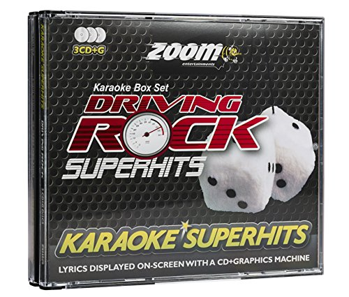 Zoom Karaoke CD+G - Driving Rock Superhits - Triple CD+G Karaoke Pack