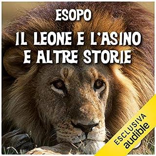 Il leone e l'asino e altre storie copertina