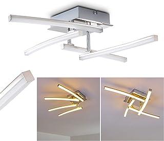 Moderna Lampara de techo LED Georgina - 4x LED 3 Watt alta eficiencia - 300 Lumens cada Luz 3000K blanco cálido - Brazo flexible para cambiar el diseño