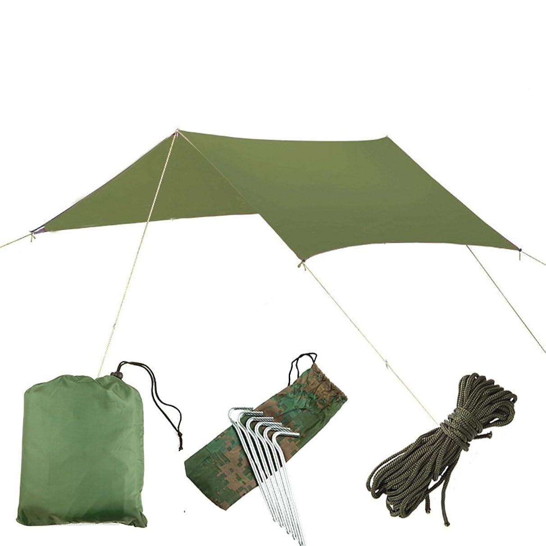 LemonDa Portable Camping Tent Tarp Shelter Sunshade Outdoor Sails Canopy Tent,Waterproof Rip Resistant Camping Tarp for Any Weather, UV Block UV & Commercial Grade Outdoor Patio Garden Car