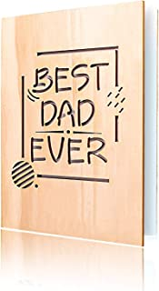 Best wooden father's day card Reviews