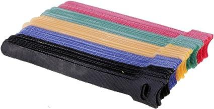 Blesiya Set Van 50 Kabelbinders Met Klittenband Kabelbinders, Klittenband Voor Kabel- En Kabelmanagement