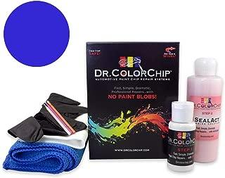 Dr. ColorChip Mercedes-Benz C-Class Automobile Paint - Cavansite Blue Metallic/Lunar Blue Metallic 890/5890 - Road Rash Kit