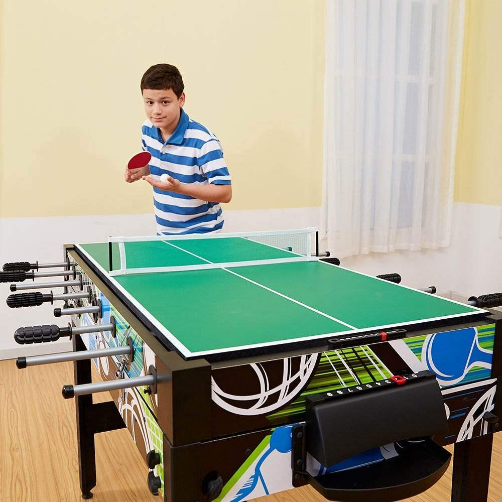 MD Sports 48 Inch 12 in 1 Combo Multi-Game Table