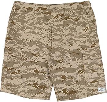 Army Universe Desert Digital Camouflage Military BDU Cargo Shorts Pin Size Medium  Waist 31-35