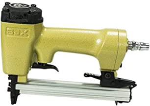 ASWT -Pistola de Clavos de Aire,Pistola neumática F32 Grapadora de Aire Clavadora Compresor de Aire Clavo Golpe de Aire,Clavadora Clavadora de Aire de Acero Inoxidable,Acabado Interior,Code Nail Gun