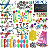 150PCS Carnival Prizes for Kids Birthday Party Favors Prizes Box Toy Assortment for Classroom