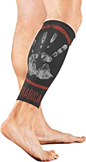 YKNFIS Stop Radicalism Compression Calf Sleeves Leg Compression Socks Compression Leg Sleeves for Shin Splints & Calf Pain Relief Perfect for Men & Women Runners Cycling - 1 Pair