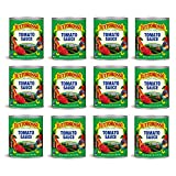 Tuttorosso Tomato Sauce, 28oz Can (Pack of 12)