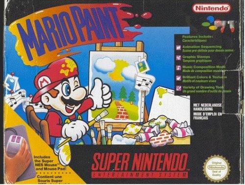 Mario Paint - Super Nintendo SNES