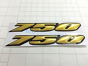 Decal Story 3D Emblem Sticker Decal Gold Raise Up Polish Gloss For Suzuki GSXR 750 Gixxer